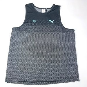 Puma x Diamond Supply Tank Top Spell Out Mens XL